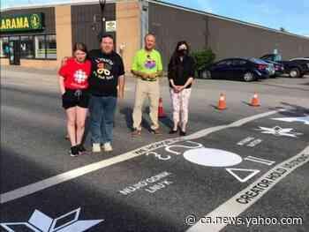 Stephenville unveils new crosswalk celebrating Mi'kmaw culture - Yahoo News Canada