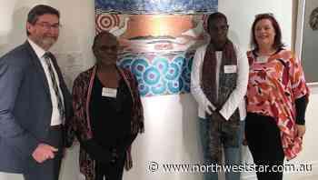 Mornington Island artist shines at Charleville - The North West Star