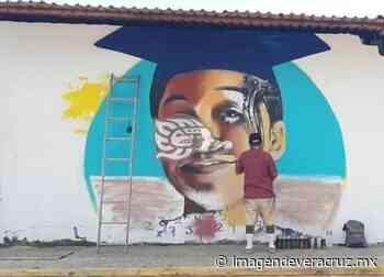Itzel Dayana será recordada con un mural pintado en Nanchital - Imagen de Veracruz