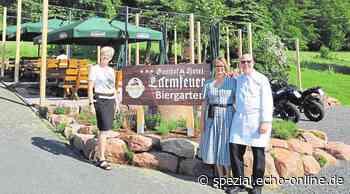 Reichelsheim: Biergarten Lärmfeuer & Café Odenwaldstube - Echo-online