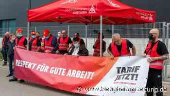 Forderung nach Tarifvertrag im Eichwald bei Sachsenheim: Streik bei Dräxlmaier - Bietigheimer Zeitung