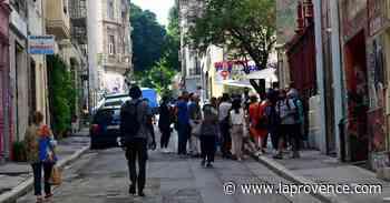 Marseille : rue d'Aubagne, la normalité revient à petits pas... - La Provence