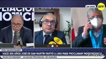 Alcalde provincial de Huaura pide al Gobierno concretar la construcción del Parque Bicentenario - RPP Noticias