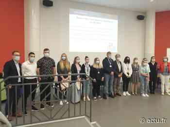 CFA de Val-de-Reuil : les médaillés des concours de 2019, 2020 et 2021 à l'honneur - actu.fr