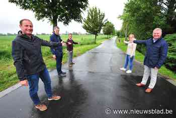 """Cottemweg wordt fietsstraat op vraag van buurtbewoners: """"Voo... (Oudenburg) - Het Nieuwsblad"""