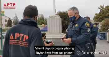 Polizist versucht, dank Taylor Swift nicht auf Youtube zu landen - futurezone.at