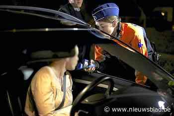 Politie onderschept acht dronken bestuurders