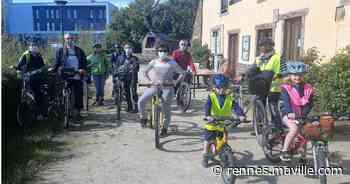 Saint-Jacques-de-la-Lande. Une première balade thématique à bicyclette - maville.com