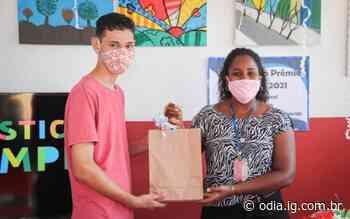 Estudante de Arraial do Cabo vence concurso sobre saneamento básico | Arraial do Cabo | O Dia - O Dia