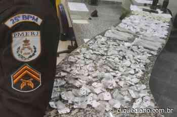 Quatro são presos em flagrante por tráfico de drogas em Araruama - Clique Diário