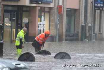 Gratis ophaling van spullen beschadigd door wateroverlast - Het Nieuwsblad