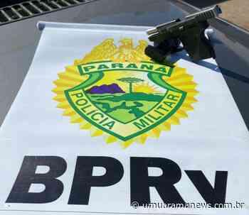 Homem é preso com pistola na PR-323 em Cruzeiro do Oeste - Umuarama News
