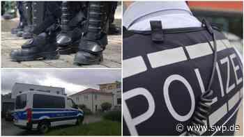 Polizeieinsatz in Dettingen: Polizei hebt große Marihuana-Plantage in Dettingener Wohngebiet aus - SWP