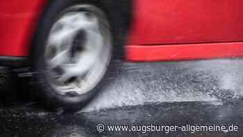 Drei Aquaplaning-Unfälle auf der A7 innerhalb einer Stunde - Augsburger Allgemeine