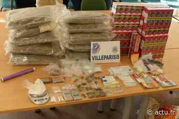 Drogue et argent à Villeparisis : à 23 ans, il revend des kilos de cannabis et de la cocaïne - actu.fr