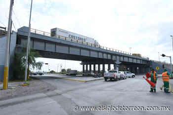 Inspeccionan puente vehicular Villa Florida - El Siglo de Torreón