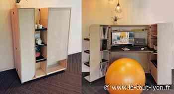 Limonest : Axial Design crée un meuble pour s'adapter aux nouvelles façons de travailler - Tout Lyon