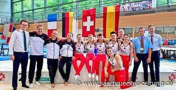 Turnen: Daniel Mousichidis aus Schwalbach siegt mit DTB-Team bei Länderkampf - Saarbrücker Zeitung