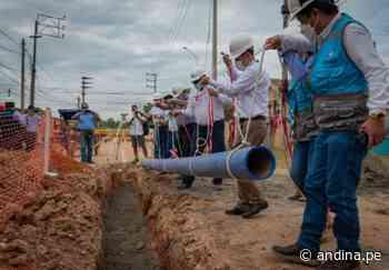 Pucallpa: más de 11000 pobladores se beneficiarán con nuevo proyecto de agua potable - Agencia Andina