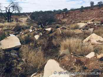 Illegal dump picked for clean up - Alice Springs News Online