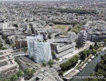 Issy-les-Moulineaux : la tour Keïko reprise par son futur occupant - CFNEWS Immo