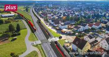 Weiterstadt Böse Überraschung bei ICE-Plänen für Weiterstadt - Echo Online