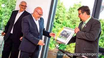 Neuer Rathaus-Anbau in Warstein in kleiner Runde feierlich eröffnet - soester-anzeiger.de