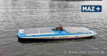 Wildau: Solarbootregatta der TH auf der Dahme im September - Märkische Allgemeine Zeitung