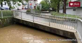 Dauerregen sorgt in Biberach wieder für Überschwemmungen - Schwäbische