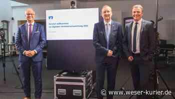 Erfolgreiches Jahr für Volksbank Syke trotz Corona - WESER-KURIER - WESER-KURIER