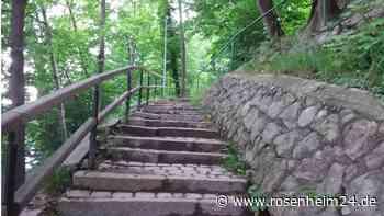 Bad Aibling: Warum die Sanierung der Stufenanlage am Hofberg warten muss - rosenheim24.de