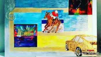 "Timmendorfer Strand: Vermisstes Gemälde ""Goldener Porsche"" hing im Büro des Bürgermeisters | shz.de - shz.de"