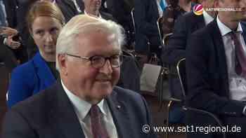 VIDEO | Bundespräsident Steinmeier beim Landkreistag 2021 in Timmendorfer Strand - SAT.1 REGIONAL - Sat.1 Regional