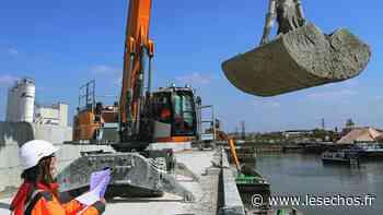 Hauts-de-Seine : Gennevilliers inaugure une plateforme pour les déblais de chantier - Les Échos
