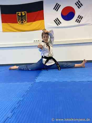 Taekwondo: Anna Monika Siepmann bleibt während der Coronapandemie mit Online-Training fit - Lokalkompass.de