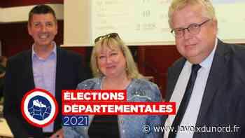 Départementales – canton de Fourmies : le binôme Devos-Hiraux fait mieux qu'en 2015 - La Voix du Nord