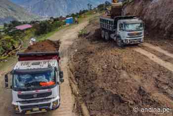 MTC suspende temporalmente construcción de la vía Evitamiento de Abancay - Agencia Andina