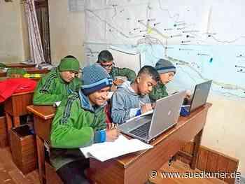 Raumschaft Triberg/Furtwangen: Die Kinder in Nepal haben ein Problem – Da schicken die Rotarier ihnen Computer und Gitarren - SÜDKURIER Online