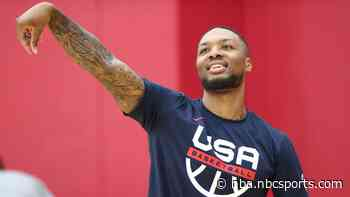 """Lillard on trade rumors, """"Words being put in my mouth when I haven't said anything"""""""