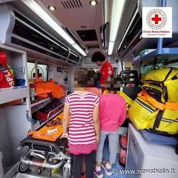 Croce Rossa, a Cossato i bimbi del centro estivo a lezione e alla scoperta dell'ambulanza - newsbiella.it