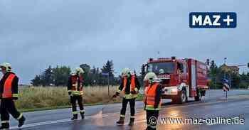 Ölspur zieht sich von Beelitz bis nach Seddiner See - Märkische Allgemeine Zeitung