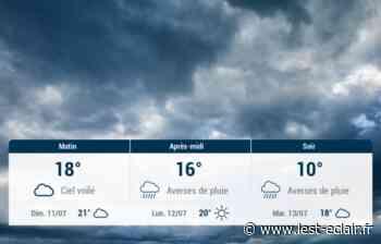 Nogent-sur-Seine et ses environs : météo du samedi 10 juillet - L'Est Eclair