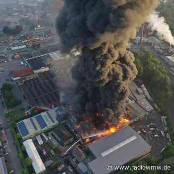 30 Millionen Euro Sachschaden bei Großbrand in Vreden - RADIO WMW