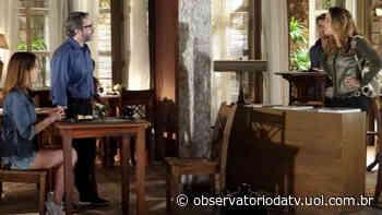 """Cris vê Lorena com Lourenço, faz barraco e demite babá sem deixá-la ver Tiago: """"Sua traíra"""" - Observatório da TV"""