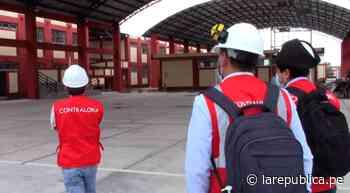 Municipio de Mórrope subsanó 34 hechos adversos en obra de colegio tras acciones de control LRND - LaRepública.pe