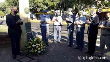 Solenidade diante de monumento histórico homenageia combatentes da Revolução Constitucionalista - G1