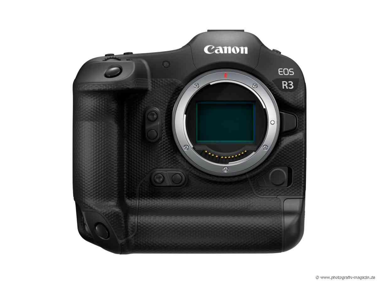 Canon EOS R3 soll im September 2021 vorgestellt werden - Photografix Magazin