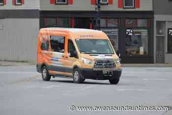 Grey Transit Route from Owen Sound to Orangeville now running weekends - Owen Sound Sun Times