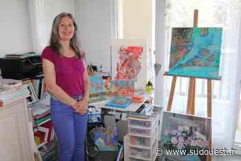 Hasparren : Georgia Niekrasz expose des œuvres sensibles et colorées - Sud Ouest