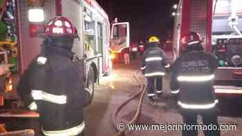 Intenso fuego y crisis nerviosa de personas en Cutral Co - Mejor Informado